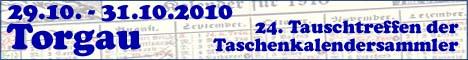 24. Tauschtreffen der Kalendersammler